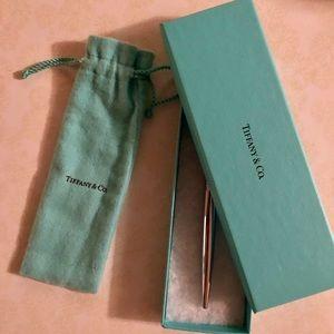Tiffany & Co Chrome ballpoint pen